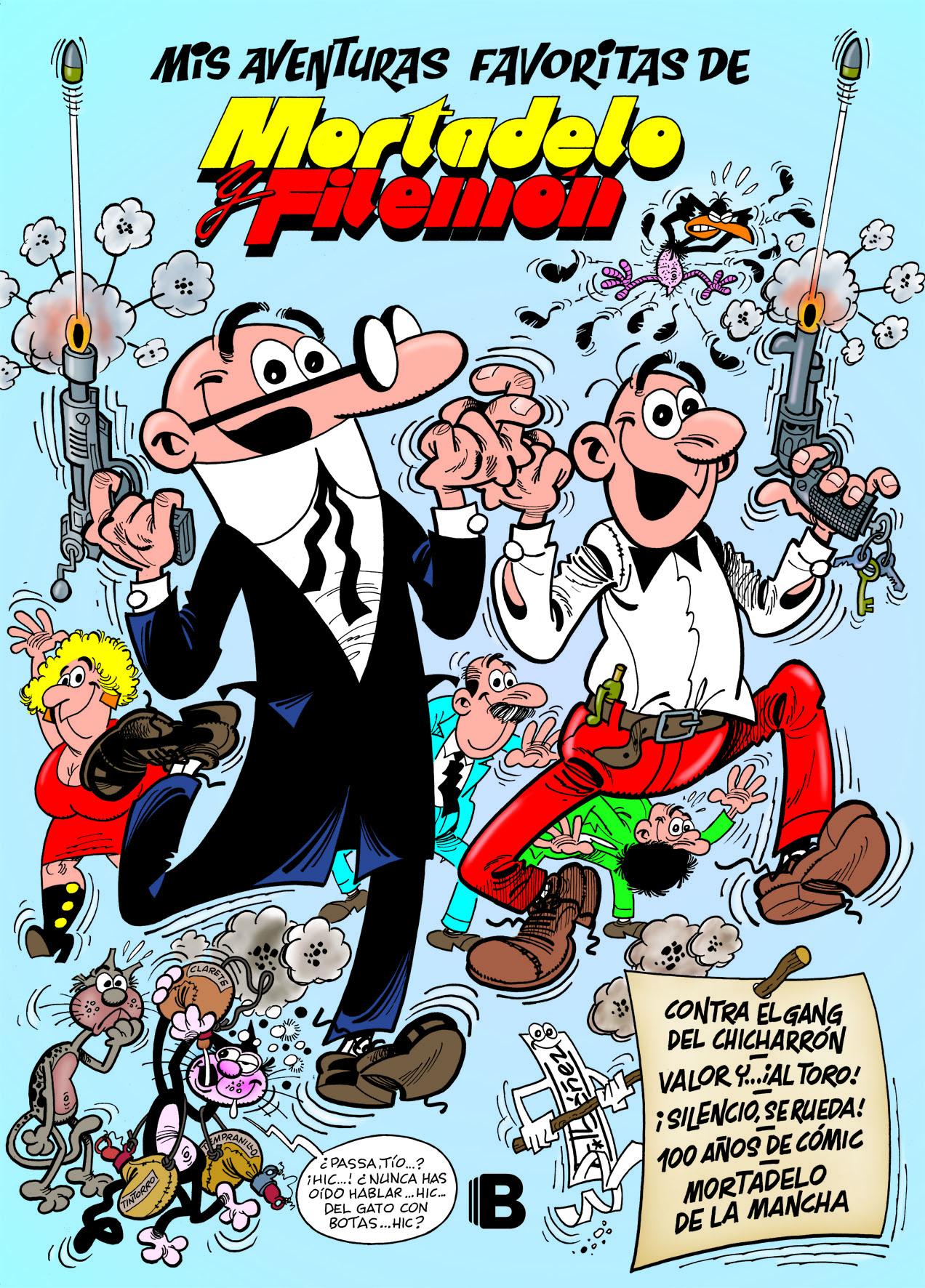 9b53688330 ... Ediciones B publicará un nuevo álbum recopilatorio que incluye las  aventuras favoritas de la serie estrella de Francisco Ibáñez  Mortadelo y  Filemón.